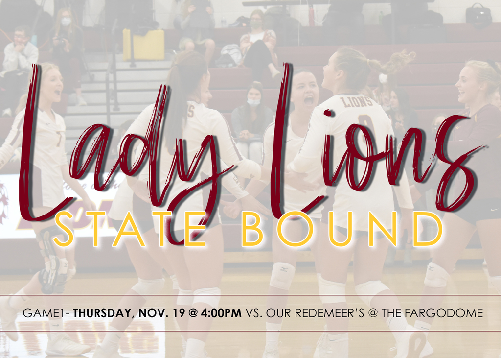 Lady Lions State Bound