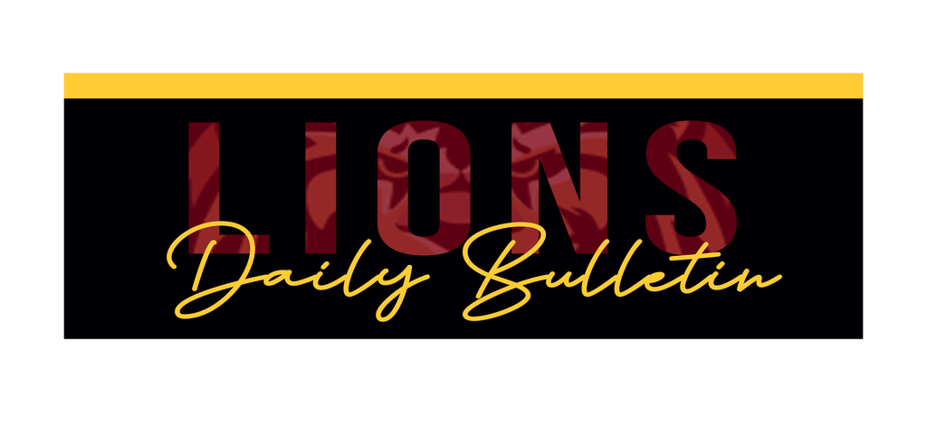Lions Daily Bulletin