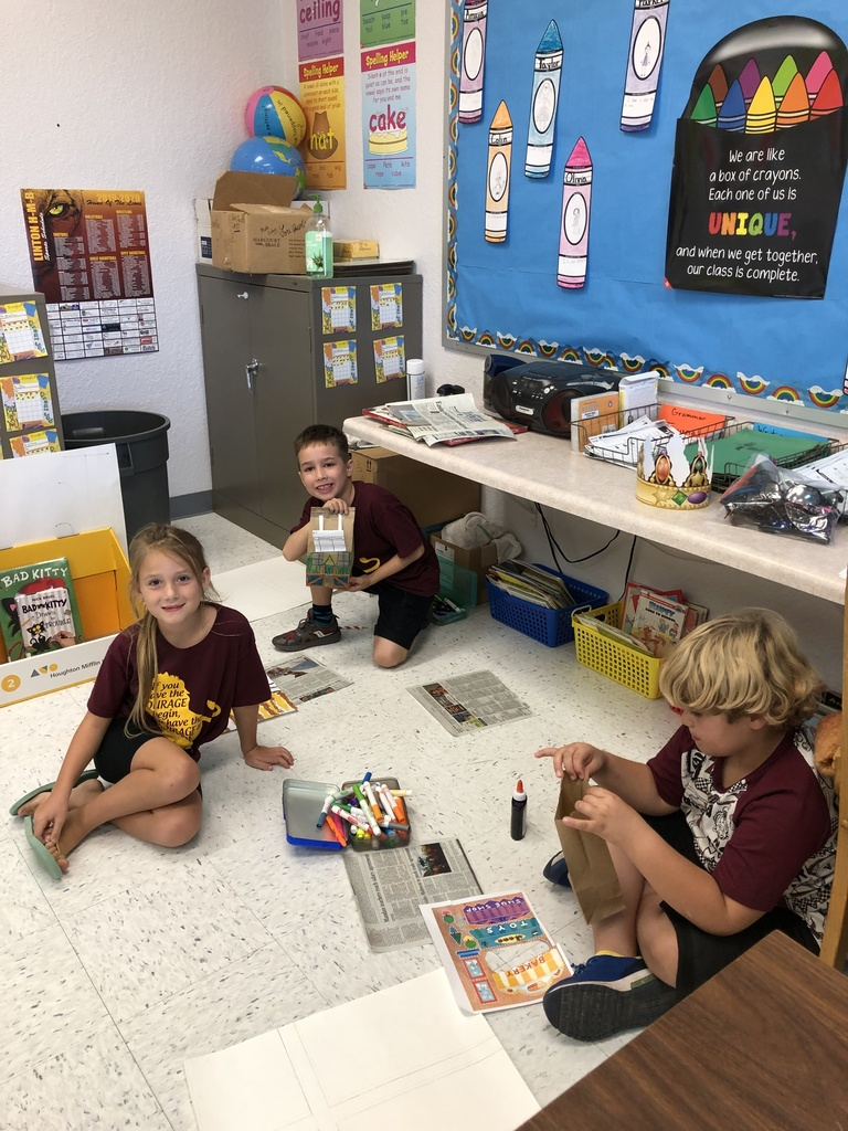 2nd Grade community projects